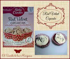 Red Velvet Cupcake.✰ Receta de nuestra colaboradora Ɲoelia ✰