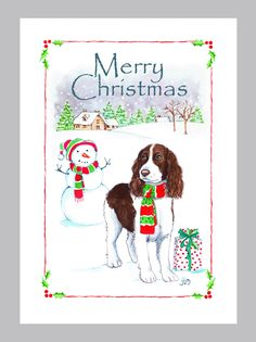 Springer spaniel xmas gifts for him