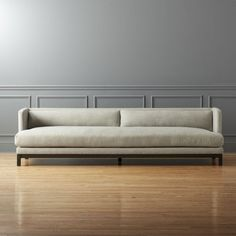 Shop brava long sofa. Minimal yet cushy. Sleek yet relaxed. Brava is the definition of casual luxury. One long continuous seat backed with two slim knife-edged cushions sits long and deep for maximum lounging.