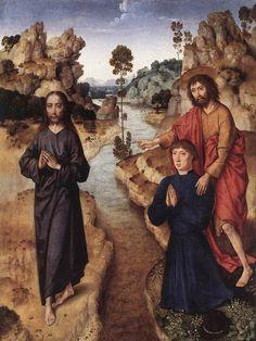 Ecce agnus Dei, 1463 - Dirk Bouts