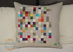 from the blue chair: Modern Mini Quilt Challenge Blog Hop