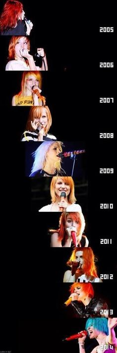Hayley Williams - she's awesome!
