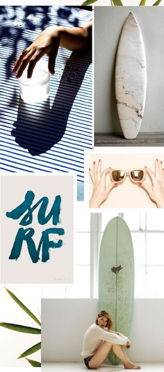 Trend Spotting: Surfboards | Apartment34 | Decor http://apartment34.com/2014/08/trend-spotting-surfborts/