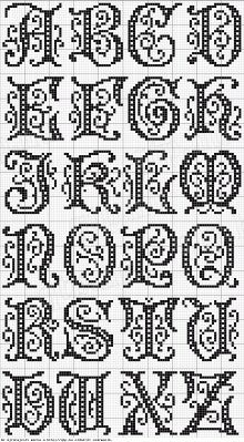 Cross Stitch Alphabet More
