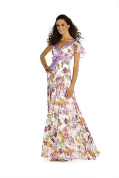 empire maxi dress pattern. make this for Wab for the wedding.