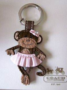 I love my Coach Monkey Keychain <3