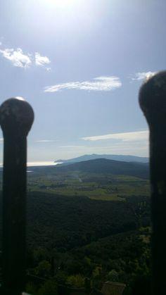Capalbio - Vista dalla torre aldobrandesca