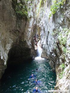 Canyoning, Montenegro
