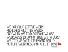 One of my favorite quotes on love EVER
