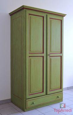 Risultati immagini per armadio verde ante | ARMADI colori da ...