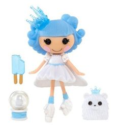 """New Target holiday exclusive Lalaloopsy mini """"Ivory Ice Crystals."""" Currently available on the Target website. Shopkins, Lalaloopsy Mini, Fairy Coloring Pages, Ice Crystals, Crystals Store, Toys For Girls, Girl Toys, Miniature Dolls, Doll Accessories"""