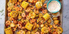Sheet Pan Shrimp Boil Horizontal