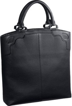 Cartier Saddle-stitched leather tote