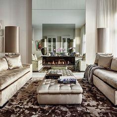 Love the gold velvet sofa's by loveluxuryinteriors http://discoverdmci.com