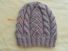 Knitting patterns, knitting designs, knitting for beginners. Knitting Blogs, Knitting Designs, Baby Knitting, Knitting Patterns, Crochet Cable, Crochet Wool, Hand Crochet, Crochet Slouchy Beanie, Knitted Hats