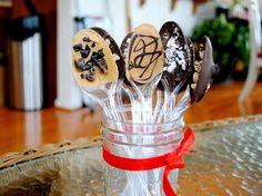 One City Owl Blog: Hot Chocolate Spoons DIY
