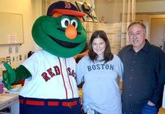 Wally and Jerry taking a picture with a very happy fan!