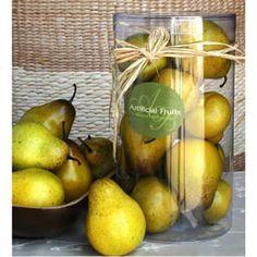 $12.99 Artificial Pear In Box FantasticDecor - Home & Garden Accents