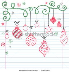 cute doodles for a Christmas journal