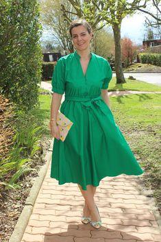 Look du jour, blog mode, Les petites bulles de ma vie, robe Zara, Chaussures San Marina, Pochette Minelli #zara #sanmarina #minelli