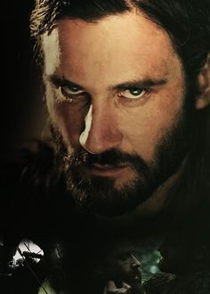 Rollo from the History Channels show Vikings. I'm not a fan of guys with beards but I think Rollo sports it well!
