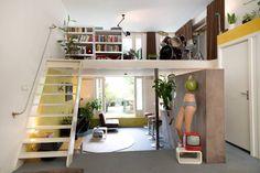 Schau Dir dieses großartige Inserat bei Airbnb an: PLAYFUL SPLIT-LEVEL LOFT+GARDEN - Lofts zur Miete in Amsterdam