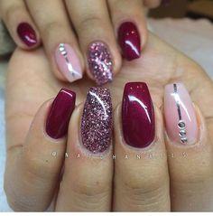 Gel nails so pretty