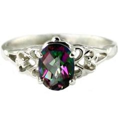Would love to engrave something on the inside and outside that has to do with the book I wrote, because this reminds me of a ring in the story! (SR302, Mystic Fire Topaz,  925 Sterling Silver Ring)