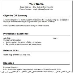 best resume templates 2013 2014 work miscellaneous