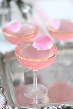 Lady rose drink recipe. // perfect for Mother's Day Brunch