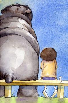 Hippopot-a-mouse by Nina Rycroft