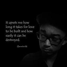-Benedict Mappala #quote #quotes #love #feelings #heartbreak #empathy #sympathy #emotions #life #sad #happy