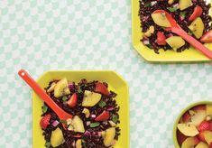 Salade de riz noir avec kiwis et noix de cajou | La ressource numéro un pour les…