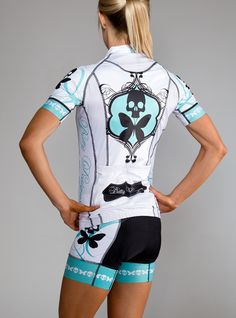 Betty Designs Womens Signature Cycle Jersey #cycling #bikes