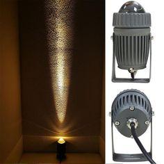 Corbin - Water-Proof Uni-Direction Spotlight – Warmly Outdoor Flood Lights, Lawn Lights, Outdoor Lighting, Spotlight Lamp, Lumiere Led, Red Blue Green, Yellow, Luminous Flux