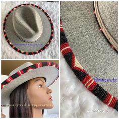 Seed Bead Earrings, Beaded Earrings, Seed Beads, Beading Ideas, Beading Patterns, Twerk Twerk, Beaded Hat Bands, Beadwork Designs, Native American Beading
