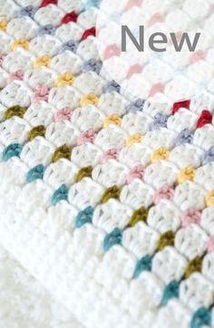Baby Blanket Crochet Pattern Annie PDF Instant von LittleDoolally, $4.99