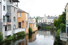 View from Harmony Bridge, Ennis, County Clare, Ireland. Clare Ireland, Ennis Ireland, Ireland Vacation, Ireland Travel, Dream Vacations, Vacation Spots, Beautiful World, Beautiful Places, Places To Travel