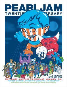 Pearl Jam 20th anniversary