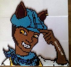 Clawd Wolf Monster High hama perler beads by deco.kdo.nat