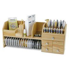 Organizer da tavola : Table Top Work Bench : Per organizzare ed accedere ai tuoi accessori molto facilmente.Contiene 9 scomparti, 4 cassetti, 1 rack.Access
