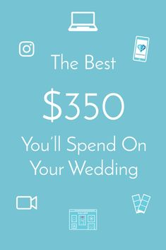 More Fun. Get a wedding app, photo/video booth, and wedding video for an amazing price. My Wedding Planner, Wedding Planning Checklist, Budget Wedding, Wedding Tips, Wedding Story, Dream Wedding, Redwood Wedding, Advice For Bride, Bridal Decorations