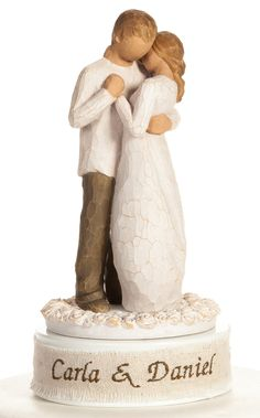 Willow Tree Cake Topper Personalized