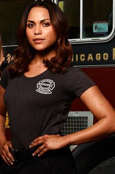 Monica Raymund as paramedic, Gabriela Dawson on NBC's 'Chicago Fire' | Shared by LION