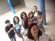 Blog do Inayá: Família Inayá na Escola