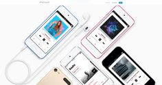Apple Website iPod touch