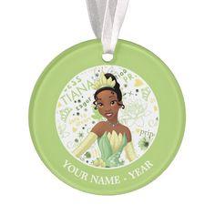 Princess Tiana | Tiana Add Your Name Ornament #ad