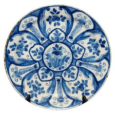 www.cathys-curios.co.uk repinned & tweeted this - Delft Charger