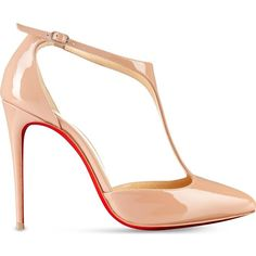 CHRISTIAN LOUBOUTIN J String 100 patent/suede (224.370 HUF) ❤ liked on Polyvore featuring shoes, pumps, nude, nude patent shoes, nude patent leather shoes, nude suede shoes, nude high heel shoes and patent leather pumps