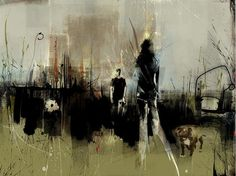Target In Waiting (Russ Mills) Russell Mills, Best Bookmarks, True Art, Paintings I Love, Art Music, Cool Artwork, Pretty Pictures, Oeuvre D'art, Art Images